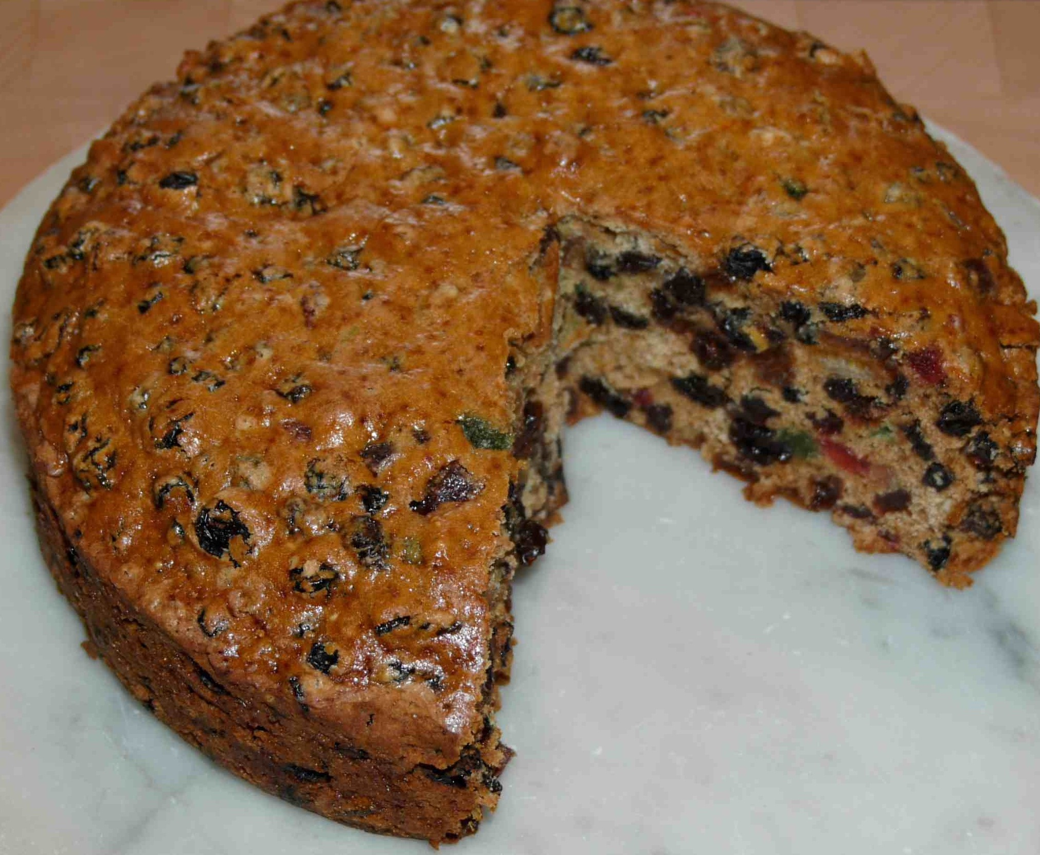 Easy Boiled Fruit Cake Recipe