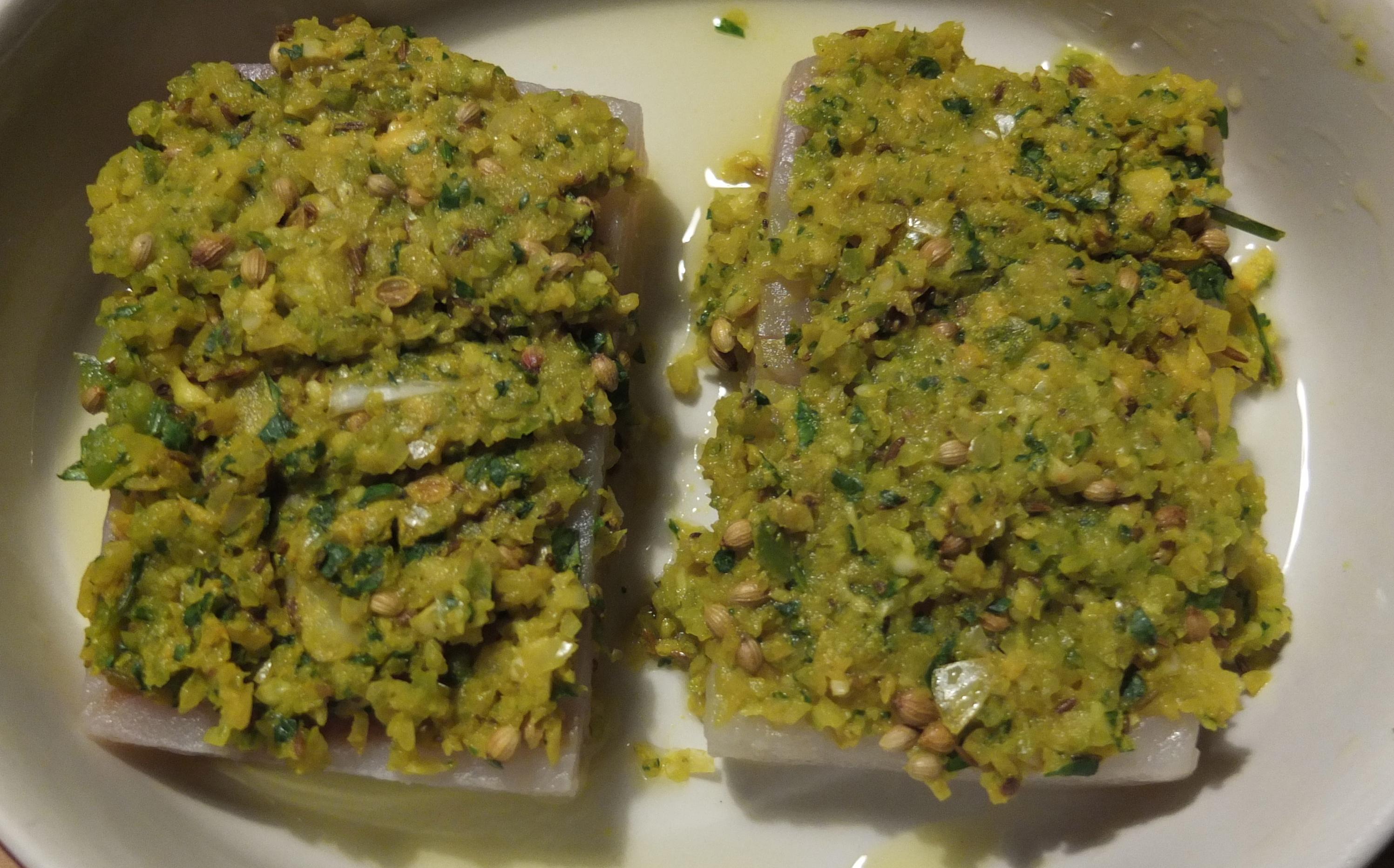 Baked fish olive oil garlic parsley for Baked fish seasoning